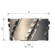 Фреза алмазная прифуговочная Microtech DIA 2.5 мм D100 B43 d30+2 Z3+3 LH 2009151456 HOMAG FFD05.100043L-4