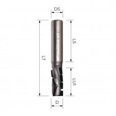 Концевая алмазная фреза для нестинга MICROTECH D12 B19 S12 Z3+3 RH PWCH61219R.12