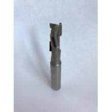 Концевая алмазная фреза для ЧПУ BLAUM D12 B45 S12x40 Z5+1 RH 10.124512.1.R