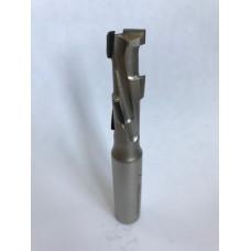 Концевая алмазная фреза для ЧПУ BLAUM D16 B45 S16x50 Z5+1 RH 10.164516.1.R