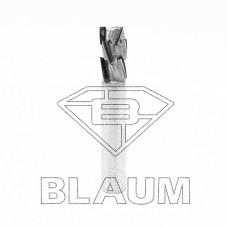 Концевая алмазная фреза для нестинга BLAUM D12 B22 S12x40 Z3+3DP RH 14.122212.3.R.N.H