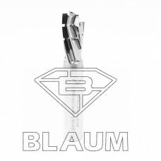 Концевая алмазная фреза для нестинга BLAUM D12 B24 S12x40 Z3+3(4 DIV) RH 14.122412.33.R.N.H