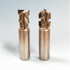 Концевая алмазная фреза для нестинга BLAUM D16 B22 S16x45 Z2+2 RH 14.162212.2.R.N.H