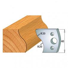 Комплект из 2-х ножей 40x4 SP CMT 690.009