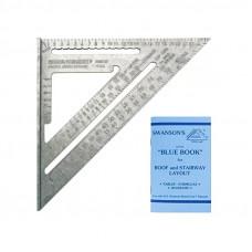 Угольник Swanson Speed Square, 250 мм, метрический Swanson EU202