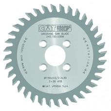 Пазовый пильный диск для ЧПУ станков CMT 150x30x3.0/2.2x36 240.150.030M