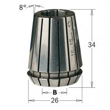 Высокоточная цанга DIN 6499 ER25 CMT B=10 184.100.25