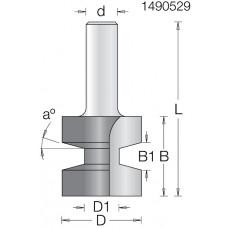 Фреза паз вставка на клин DIMAR 31.5x32x70x12 Угол 15 1490529
