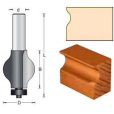 Фреза боковина поручня полдиаметра DIMAR 32x38x87x12 1630129
