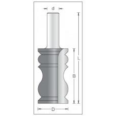 Фреза карниз декор DIMAR 31.4x58x96x12 1560039