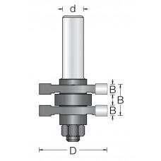 Фреза для соединения шип-паз DIMAR 41x19x70x8 1434015