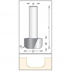 Фреза радиусная с плоским дном DIMAR 28.6x16x67x12 R6.5 1060699