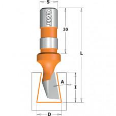 Фреза ласточкин хвост Z1 CMT 14x18x60x12 A 9º 522.140.11