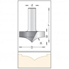 Фреза врезная радиусная DIMAR 44.5x18.3x56.3x12 R18.3 1173029