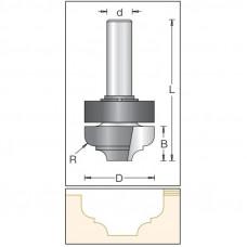 Фреза врезная радиусная с подшипником DIMAR 35x14.3x67x12 R5 1352229