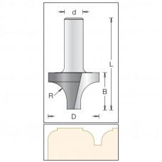Фреза врезная радиусная DIMAR 15.9x11.1x49x12 R4.8 1170039