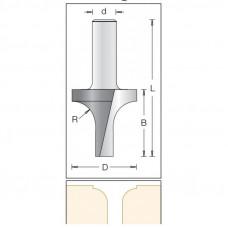 Фреза врезная радиусная удлиненная DIMAR 30x35x73x12 R6 1171559