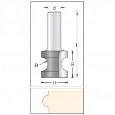 Фреза радиусная бычий нос или катушка DIMAR 13.5x12.7x45x8 R2.0 1240015