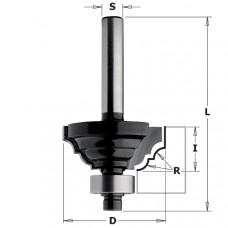 Фреза калевочная классический профиль CONTRACTOR 42.9x18x60x8 R6.3 Z2 K941-430