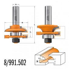 Комплект фрез для мебельной обвязки CMT 44.4x18-22x71x12 991.502.11