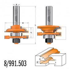 Комплект фрез для мебельной обвязки CMT 44.4x18-22x71x12 991.503.11