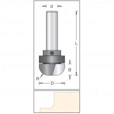Фреза для обработки сводов падуги по искусственному камню DIMAR 28.6x12.7x73x12 R10.0 1062809