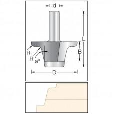 Фреза радиусная по искусственному камню DIMAR 57x24x71x12 угол 13 R4.0/5.0 1530109