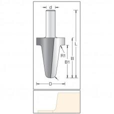 Фреза для обработки бортиков по искусственному камню DIMAR 39x40x78x12 R6.0/3.0 1564019