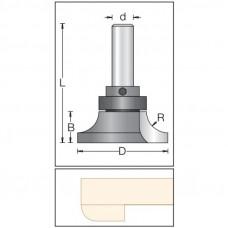 Фреза обратный радиус подрезные по искусственному камню DIMAR 54x20x73x12 R12.7 1592039