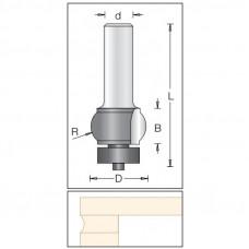 Фреза радиусные облицовочные по искусственному камню DIMAR 25.4x16x67x12  R7.9 1621019