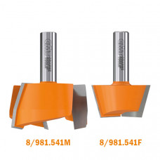 Ремонтный набор фрез для искусственного камня CMT D1=47.6 D2=63.5 L 68.5-74 S=12 981.541.11