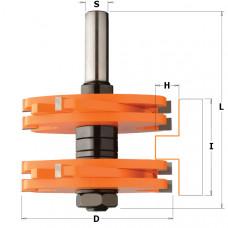 Фреза для шиповых соединений CMT 75x44.5x12 T9.5-15.8 900.628.11