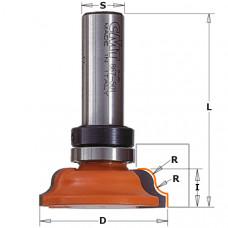 Фреза обратная калевочная для карнизов CMT 60.5x17.3x71.7x12 R6.35 967.503.11B