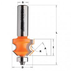 Фреза для изготовления деревянных панелей CMT 23.8x19.05x67.7x12 R4 A45 961.601.11