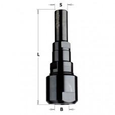 Универсальный удлинитель для фрез CMT D12 W30 L88 d12 796.002.00