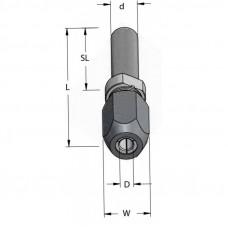 Универсальный удлинитель для фрез WPW D12 W25.4 L92 d12 TX12002