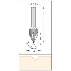 Фреза для гравировки DIMAR 14x12x57x6 угол 60 1053043