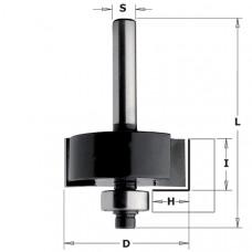 Фреза для выборки четверти с подшипником CONTRACTOR 31.8x12.7x54x8 H9.5 Z2 K935-317