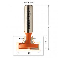 Фреза для Т-образного паза экономпанелей CMT 28x13.5x56.3x12 950.603.11