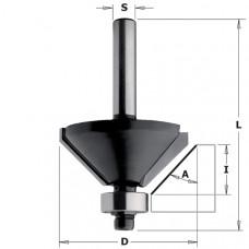 Фреза для снятия фасок с подшипником CONTRACTOR 35x15x56x8 Aº45 Z2 K936-350