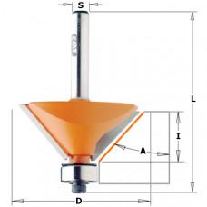 Фреза для снятия фасок с подшипником CMT 19x11.5x54.9x8 A 15º 936.130.11