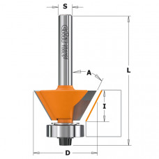 Фреза для снятия фасок с подшипником CMT 27x5.5x51.5x6 A 45º 710.260.11