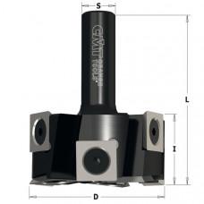 Фреза для выравнивания поверхности со сменными ножами Z6+V3 CMT 50.8x25.4x63.5x12 663.502.11