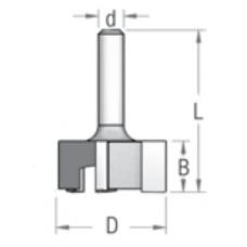 Фреза для выравнивания поверхности Z3 WPW 28.5x12.7x41x6 P322853