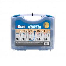 Набор саморезов (675 шт.) в пластиковом чемодане Kreg SK03-INT
