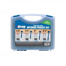 Набор саморезов (450 шт.) в пластиковом чемодане Kreg SK03B