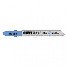 Пилки лобзиковые СМТ универсальные, комплект из 5 штук CMT JT118B-5