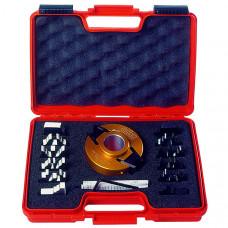 Комплект фрезы насадной и 7 ножей SP с ограничителями CMT 100x40x30 Z2 693.013.01