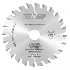 Подрезная пила коническая с покрытием CHROME CMT 120x20x3.1-4.3/2.2x24 288.720.24H