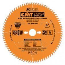 Пильный диск для багета на заусовочный станок CMT 250x30x3.0/2.5x80 285.580.10M